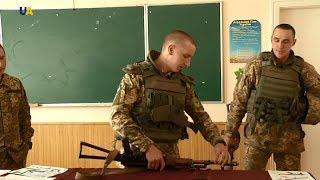 """Бойцы ВСУ провели """"уроки военной подготовки"""" в одной из школ Луганщины"""