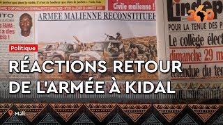 Le360.ma •Réactions des Maliens après l'annonce du retour de l'armée à Kidal