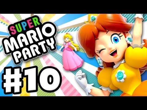 Partner Party! Watermelon Walkabout! - Super Mario Party - Gameplay Walkthrough Part 10