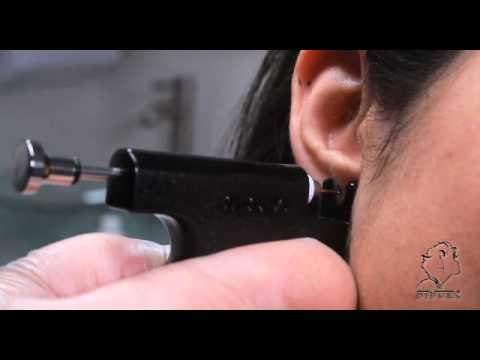 70c756fe7 Studex Universal Ear Piercing System Features - YouTube