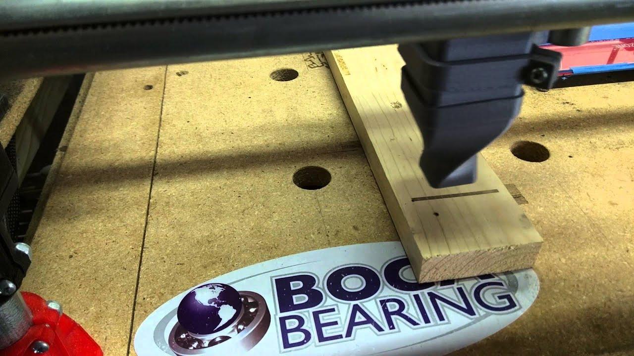 Mostly Printed CNC - Laser focus Script
