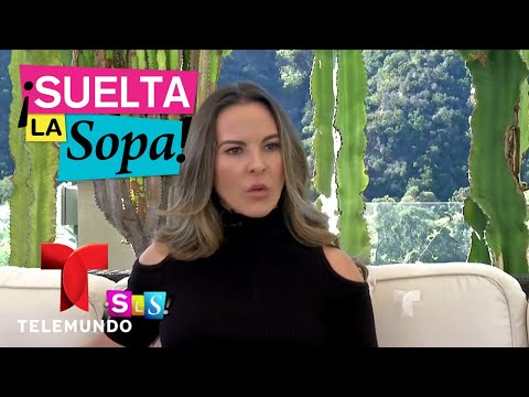 Kate del Castillo se confesó ante su hermana Verónica en entrevista exclusiva   Suelta La Sopa   Ent