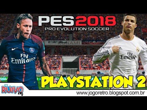 Pro Evolution Soccer 2018 (PES CHAMPIONSHIP 2018) no Playstation 2