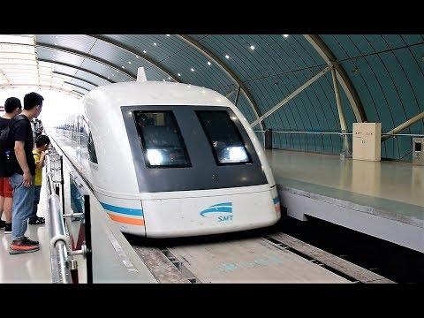 Shanghai Maglev at 190mph (300kph)!