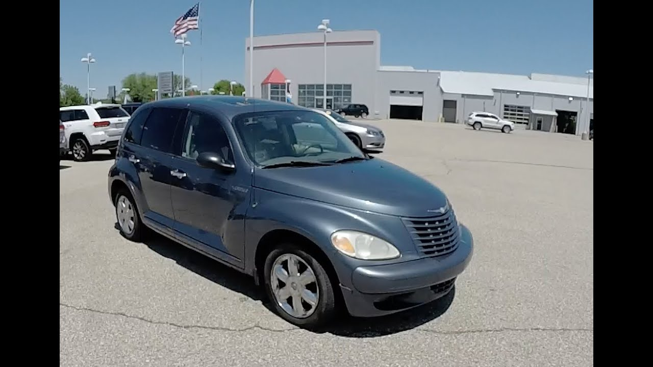 2003 chrysler pt cruiser limited edition p10952m youtube. Black Bedroom Furniture Sets. Home Design Ideas