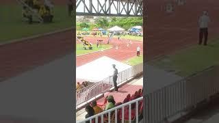 Guyana school nationals 2017, 400m heats u20 Prince
