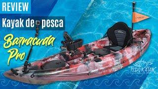 """Vídeo: Kayak de Pesca """"Barracuda PRO"""""""