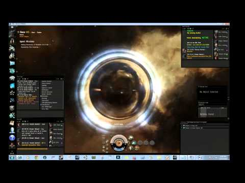 Eve Online Wormhole Mining Corp Ops. Part no idea lol