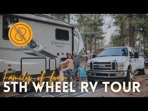Full-time Family 5th Wheel RV Tour (Coachmen Chaparral 373MBRB bunkhouse)