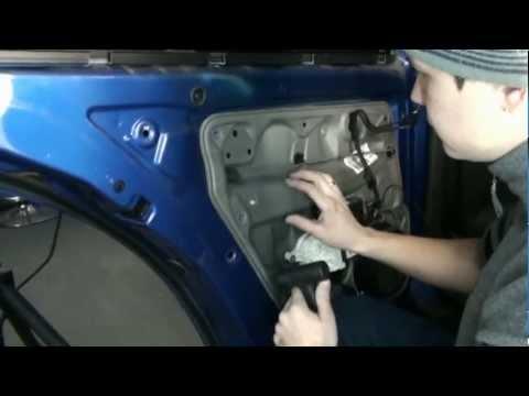 Разборка двери на Volkswagen Bora