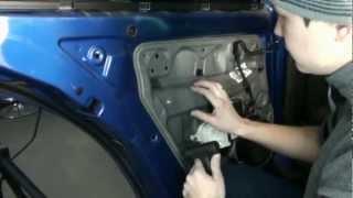 Разборка двери на Volkswagen Bora(, 2013-03-06T20:43:06.000Z)