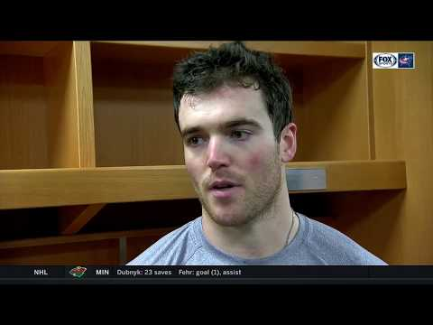 Scott Harrington realizes what it takes to be a good NHL defenseman | BLUE JACKETS-BLUES POSTGAME