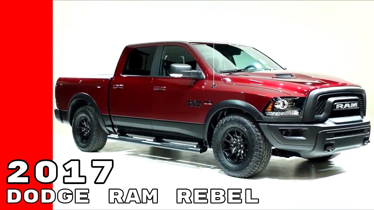 2017 dodge truck colors