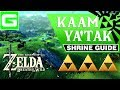 Zelda Kaam Ya'tak (Yatak) Shrine Guide Walkthrough - The Legend of Zelda: Breath of the Wild
