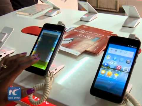 Chinese phones popular in Kenya
