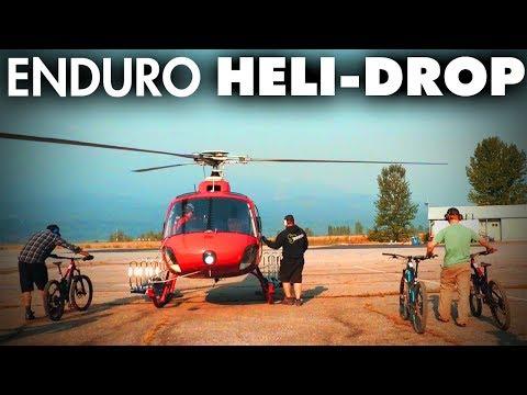 TAKING THE HELI-SHUTTLE   Day 3 - Revelstoke Helicopter Enduro!
