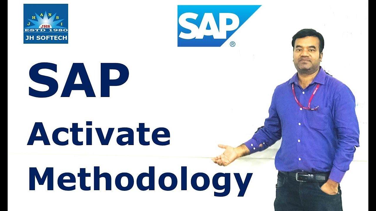 SAP Activate Methodology for S/4 HANA