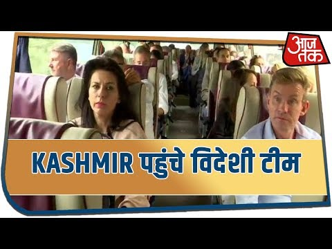 Kashmir पहुंचीं विदेशी टीम, Article 370 के बाद हालात का जायजा लेंगे आज