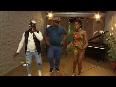 The Double Trouble feat Muungu Africa -Be Careful LIVE performance @Expresso SABC3