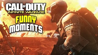 Infinite Warfare Beta Funny Moments - Body Launches, Fruit Stand, and More!