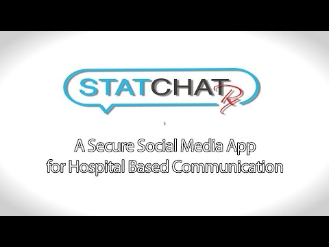 """Stat Chat Rx"" A Secure Social Media App for Hospital Based Communication"