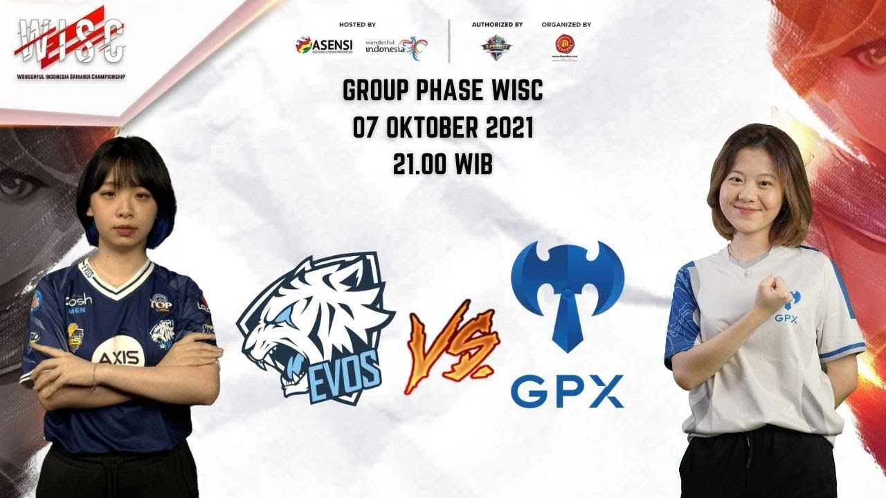Download WISC Group Phase Day 4 : EVOS Lynx vs GPX Ladies