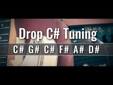 Guitar c sharp tuning