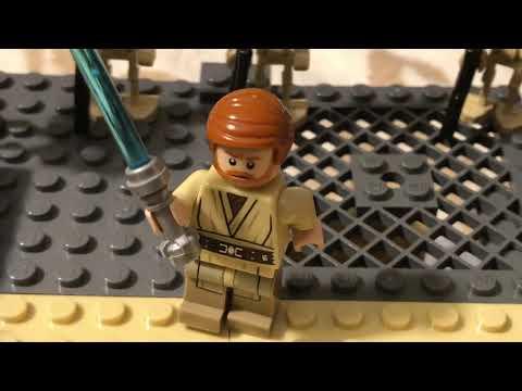 Lego Star Wars - Битва на Утапау (Самоделка) обзор