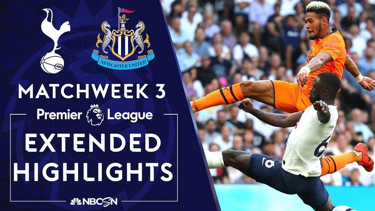 Tottenham v. Newcastle | PREMIER LEAGUE HIGHLIGHTS | 8/25/19 | NBC Sports