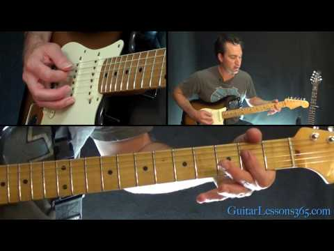 Bruce Springsteen - I'm On Fire Guitar Lesson