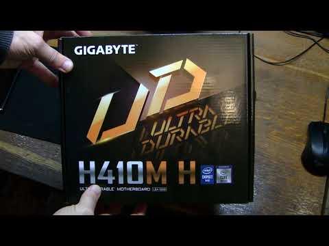 Материнська плата Gigabyte H410M H (s1200, Intel H410, PCI-Ex16)