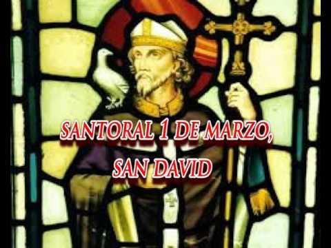 Santoral 1 de marzo, San David