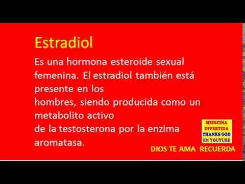 para qué sirve la testosterona estradiol