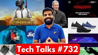 Tech Talks #732 PUBG is Harmful, JioPhone 3, Mi Sport Shoes, OnePlus at MWC, Oppo K1, Xiaomi Dual