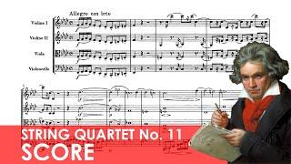 BEETHOVEN String Quartet No. 11 in F minor (Op. 95) 'Serioso' Score