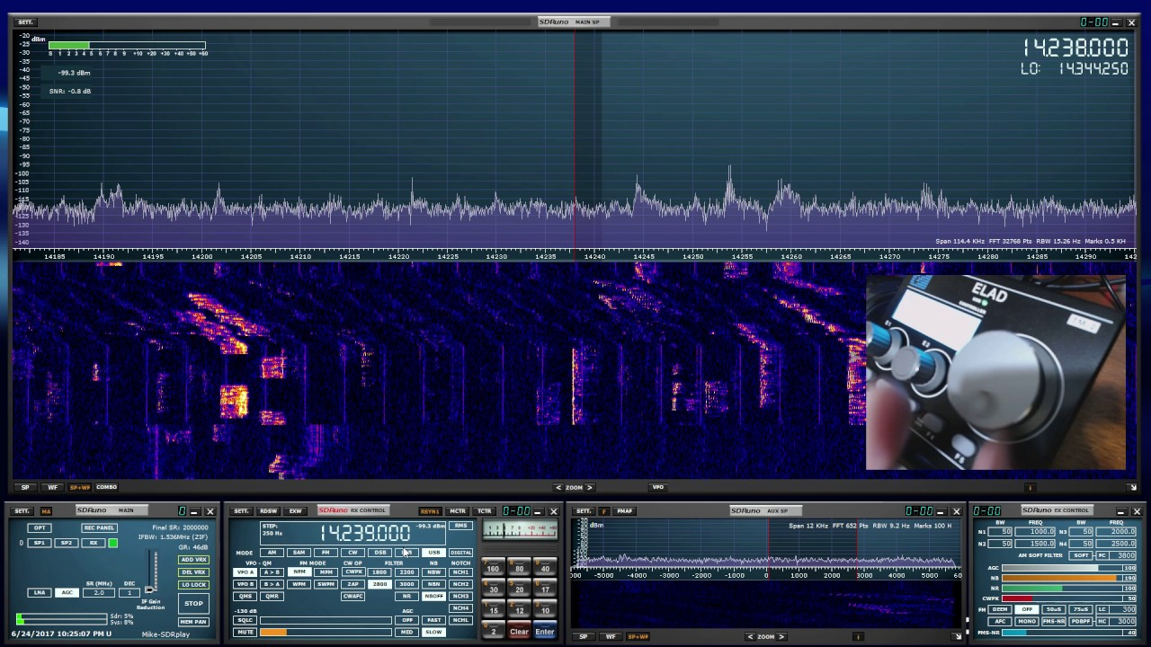 A comprehensive SDRplay and SDRuno how-to video series