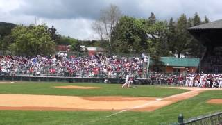 Matsui Hits 2 HR's In HR Derby At The 2014 Hall Of Fame Classic At Doubleday Field