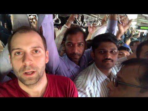 Voici le cauchemar à l'heure de pointe à Mumbai