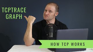 How TCP Works - How To Interpret The Wireshark TCPTrace Graph