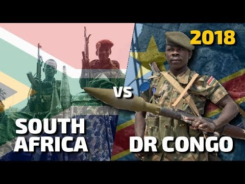 South Africa vs Democratic Republic of Congo - Military Powe