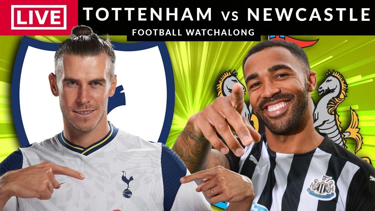 TOTTENHAM vs NEWCASTLE - LIVE STREAMING - Premier League - Football