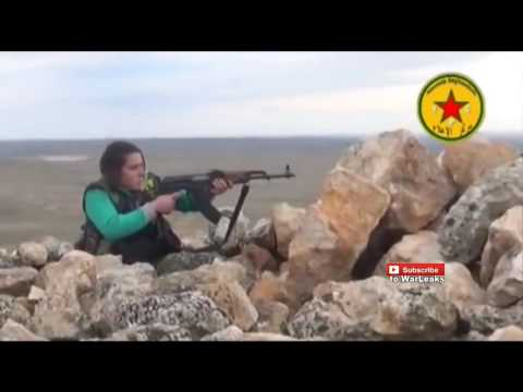 042 Syria War 2015   Kurdish YPG In Heavy Clashes During Fighting In The Outskirts Of Kobane 19 08 2