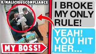 r/maliciouscompliance | My Boss BREAKS His OWN Policy