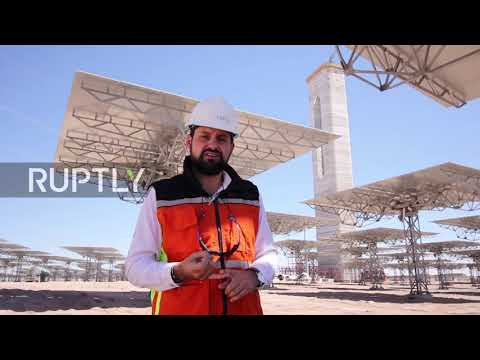 Chile: Solar plant in driest spot on planet pumps power roun