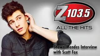Shawn Mendes Interview with Scott Fox