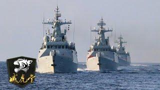舰队和基地遭敌方偷袭怎么办?解放军这场演习给出答案!「威虎堂」20210106 | 军迷天下 - YouTube