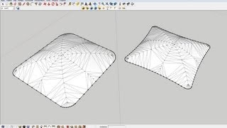 Как сделать подушку/How to make a pillow in Google SketchUp