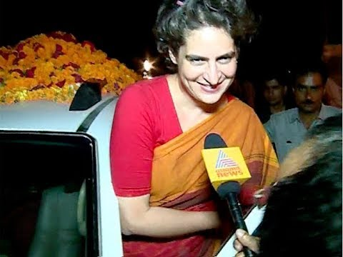 Priyanka Gandhi enters Politics : Appointed as AICC General Secretary for UP