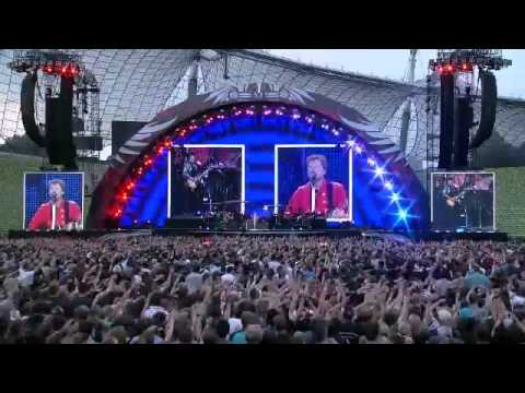 Bon Jovi - Captain Crash and the Beauty Queen from Mars - Live - Munich, Germany - June 12, 2011