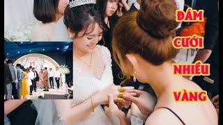 Choáng Khi Hơn 100 Chiếc Nhẫn Vàng Được Tặng Cho Cô Dâu và Chú Rể